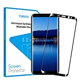 S8 Screen Protector, TURATA HD Full Coverage Tempered Glass Film Screen Protector Made for Samsung Galaxy S8 - Edge to Edge & Anti-scratch -5.8""
