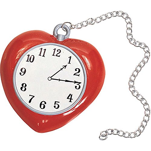 Tin Man Heart Clock