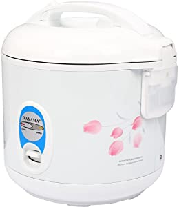 Tayama Automatic Rice Cooker & Food Steamer 5 Cup, White (TRC-04R)