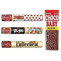 【Amazon.co.jp限定】 明治 ジャンボアソートパック 4種 計4個入