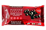PASCHA Organic Dark Chocolate Baking Chips - 100% Cacao, Unsweetened - 8.75 ounces