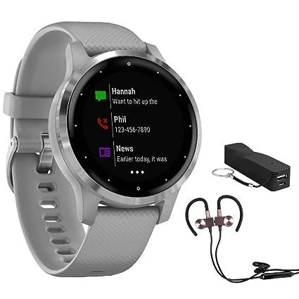 Amazon.com: Garmin Vivoactive 4S Smartwatch (010-02172-01 ...