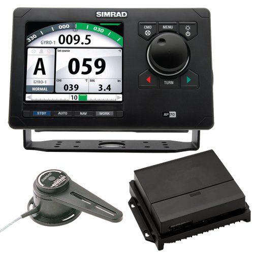 Simrad AP70 Autopilot Pack w/AP70, AC70, RF300 & Requires Rate Compass RC42 (46143)