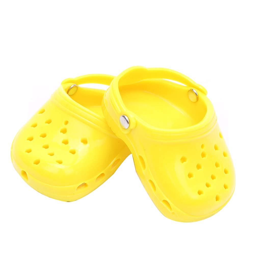 Cute Candy Color Slippers Shoes Accessory Collection Toy Gift for 18 inch Doll