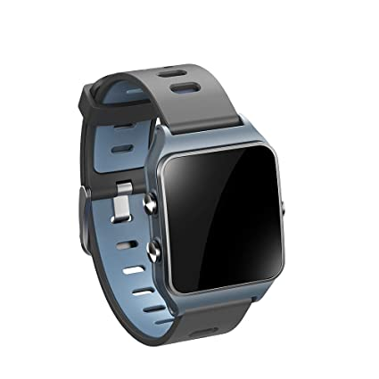 c54446b710b Amazon.com  Smart watch P1C Relogio Android GPS Motion Heart Rate ...
