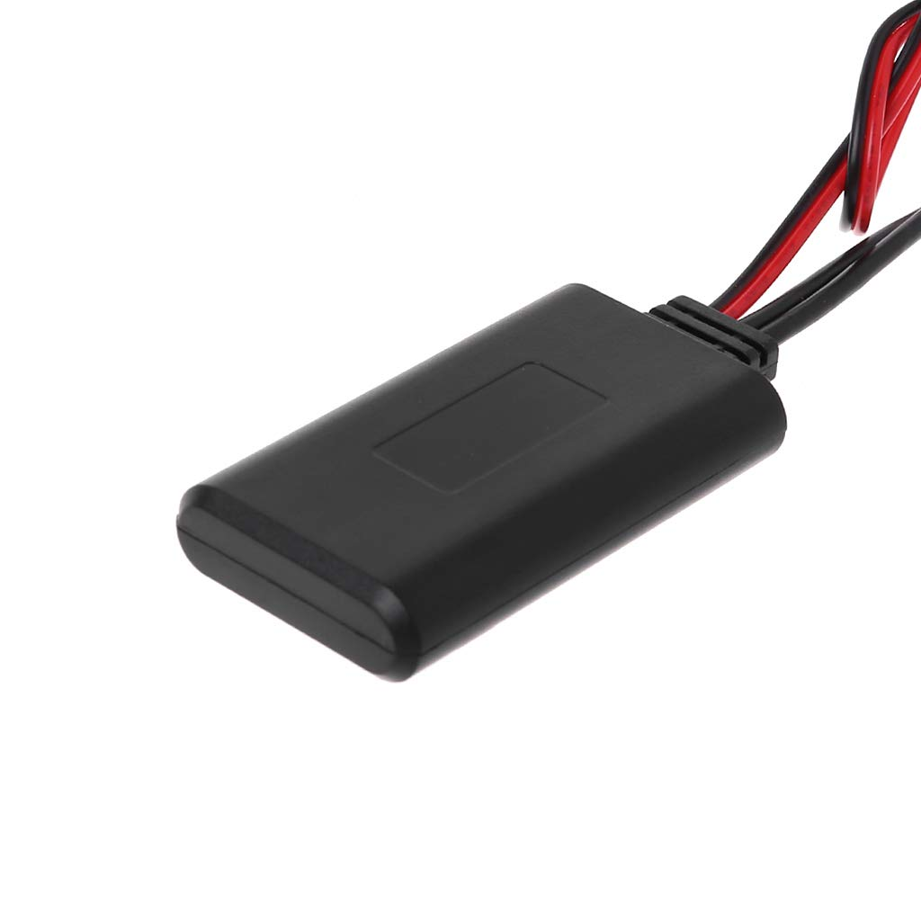 LIUXIA 12 Pines Adaptador de Radio inal/ámbrico Bluetooth para Peugeot 207 307 407 308 y Citroen C2 C3 RD4