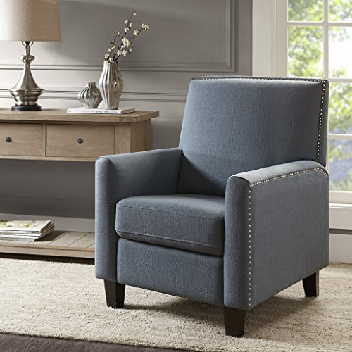 Madison Park Miles Push Back Recliner Blue See Below