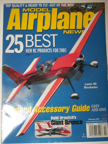 Model Airplane News February 2001