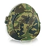 EPActive Fresh Air Purifying Mask N95/N99 Anti-Pollution Respirator with Active Fan for Prevention of PM 2.5, Odor, Dust, Smoke, Pollen, Mold, Allergen, Bacteria (Adult Medium, Camouflage)