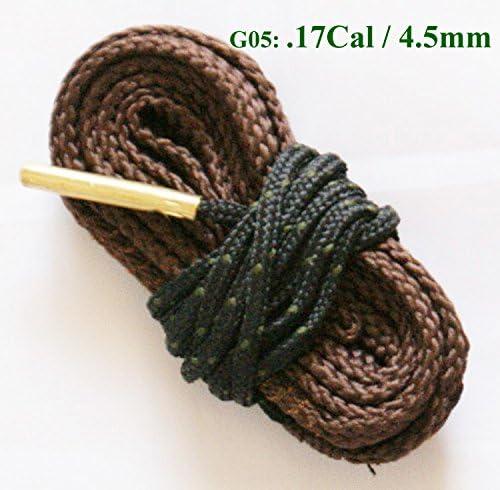 Fayelong New Bore Snake Cleaner .17 .22 .40.50.308 .380 Cal 6, 7, 9mm Caliber 12 20 28 410 Gauge Rifle/Pistol/Shotgun…