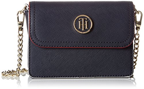 Tommy Hilfiger Honey Mini Crossover - Borse a tracolla Donna, Blu (Tommy Navy), 8x20x15 cm (B x H x T)