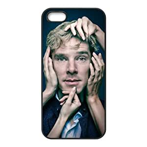 Benedict Cumberbatch 001 iPhone 5 5s Cell Phone Case Black Protective Cover