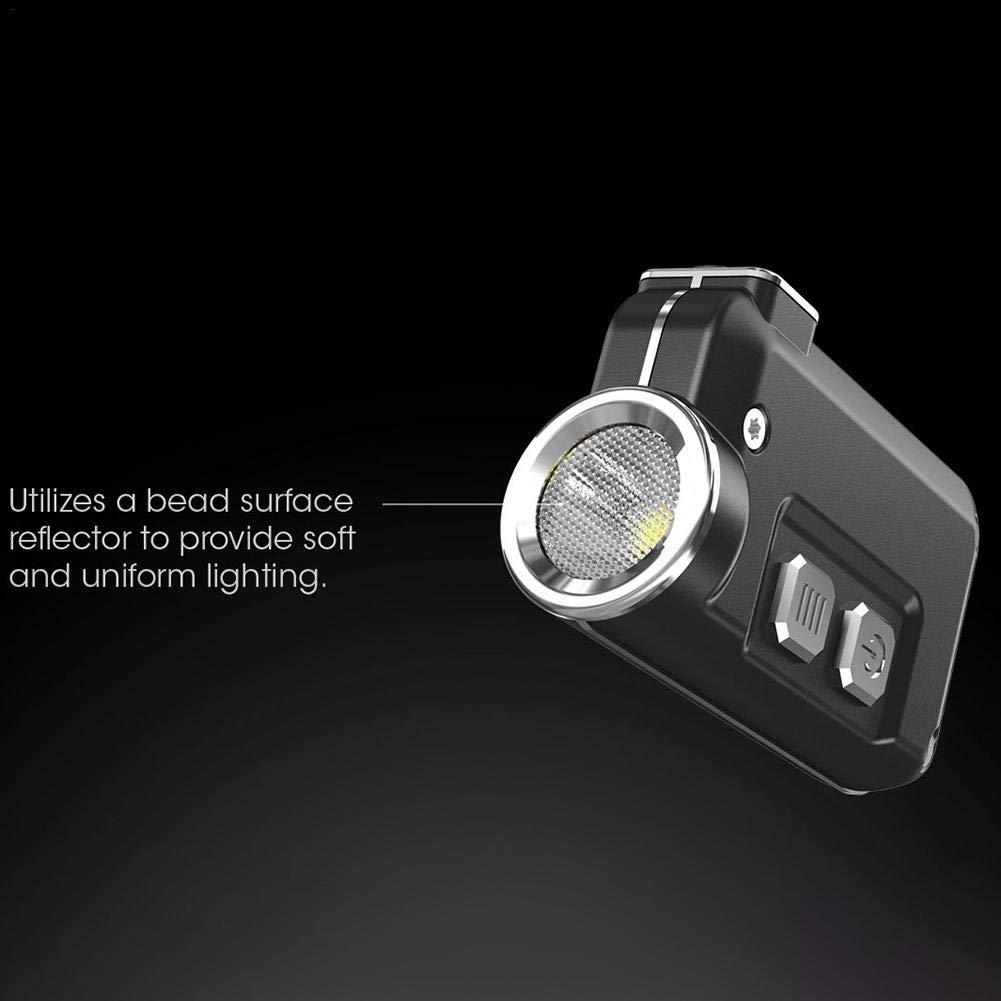 iBellete Nitecore TINI Schl/üsselanh/änger-Taschenlampe superhell wiederaufladbar /über USB 380 Lumen Tini Black Kleine Taschenlampe