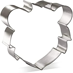 Lion Face Cookie Cutter 4 in B1569 - Foose Cookie Cutters - USA Tin Plate Steel