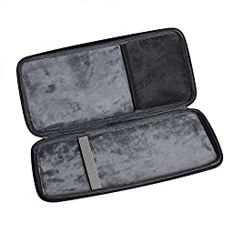 For Apple Magic Keyboard MLA22LL/A Bluetooth Hard EVA Travel Storage Carrying Case Cover Bag by Hermitshell