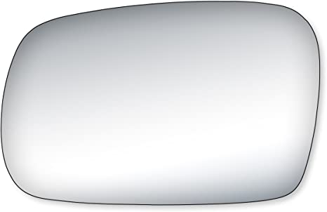 Fit System 99255 Honda Civic Coupe Driver Side Mirror Glass