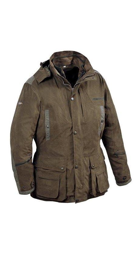 29b00c21c9b67 Verney-Carron Ibex Jacket - Olive Green - L-3XL (Shooting/Hunting):  Amazon.co.uk: Sports & Outdoors
