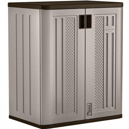 Suncast - base cabinet to store and protect your belongings from theft - best, quality, brand