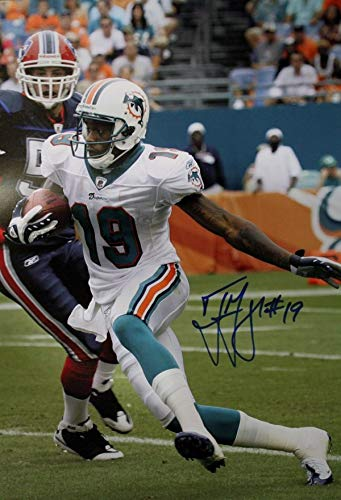 Autographed Signed Ted Ginn Jr. Miami Dolphins 16x20 Photo - Certified Authentic