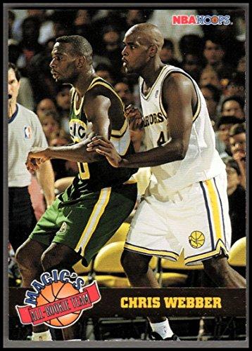 - 1993-94 Hoops Magic's All-Rookies #1 Chris Webber - NM-MT