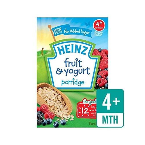 Heinz Breakfast Fruit & Yoghurt 4 Mths+ 125g - Pack of 2