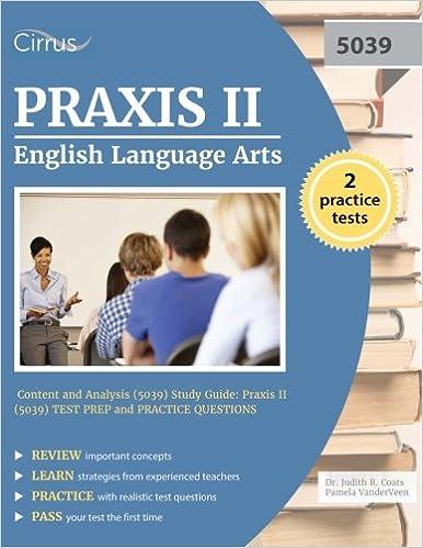 Praxis II English Language Arts: Content and Analysis (5039) Study ...