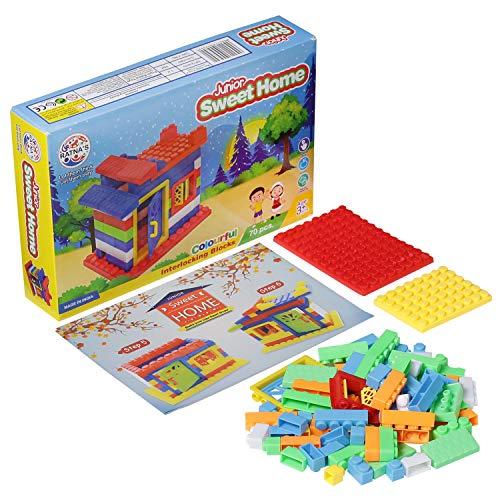 Ratna #39;s Sweet Home Blocks Junior for Kids.