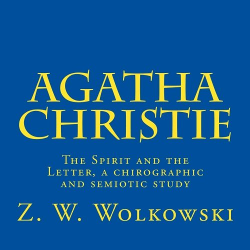 Download Agatha Christie: The Spirit and the Letter, a chirographic and semiotic study pdf