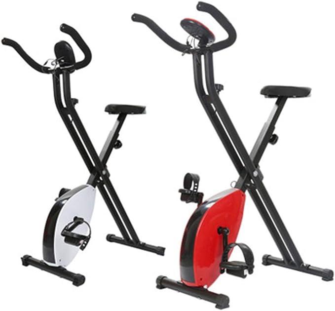 XDHN Bicicleta portátil, aparatos de Gimnasia, Bicicleta estática ...