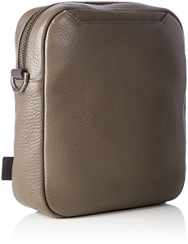 Ecco Herren Eday L Crossbody Business Tasche, Braun (Brown), 8x25x22 cm