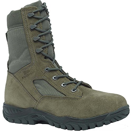 Belleville 612ST Hot Weather Steel Toe Tactical Boot, Sage Green, ()