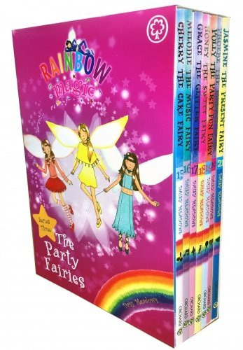 Rainbow Magic Party Fairies Collection 7 Books Pack Set