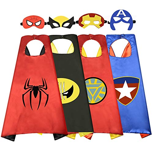 Sporting Heroes Fancy Dress - Superhero Capes for Kids, Superhero Party