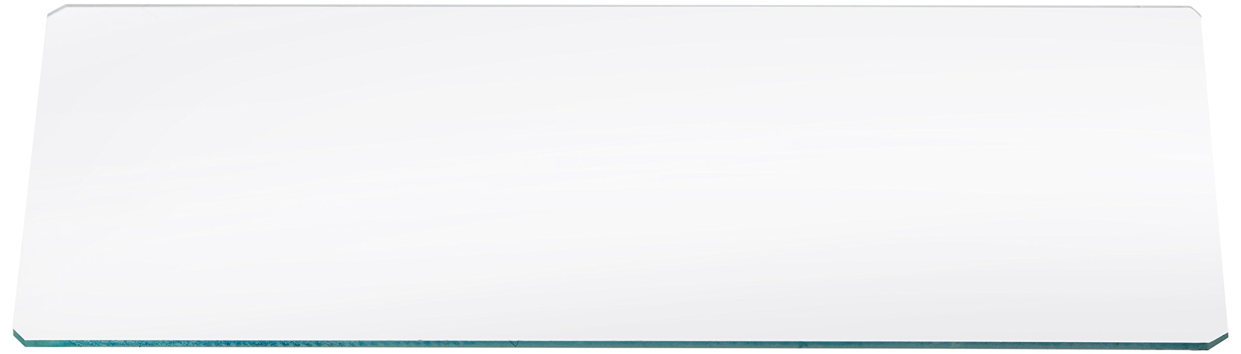 Hausser Scientific 5040 Sedgwick Rafter Cell Cover Glass, 60mm Width, 25mm Length, 0.6mm Thickness
