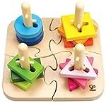 Hape HAP-E0411 Creative Peg Puzzle