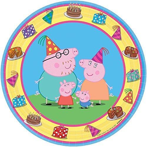 Peppa Pig Dessert Plates -