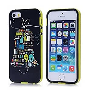 JOE Colorful Pattern TPU Protective Soft Case for iPhone 5/5S