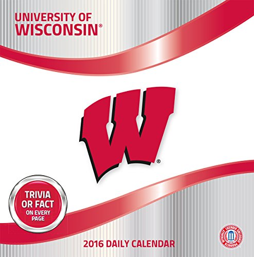 Turner Wisconsin Badgers 2016 Box Calendar, January-December (8051386)