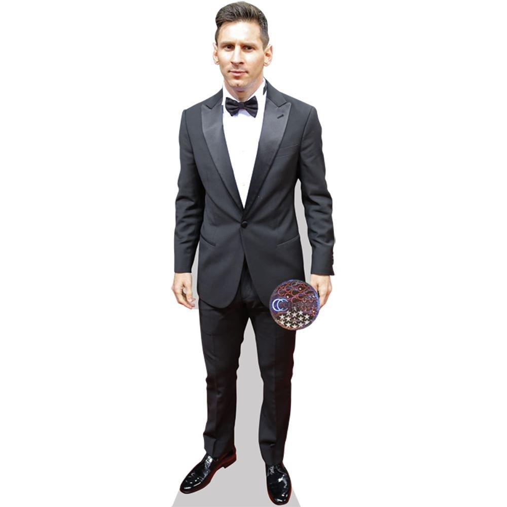 Celebrity Cutouts Lionel Messi (Bow Tie) Grandeur Nature