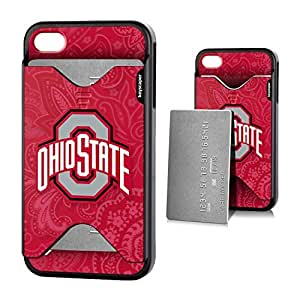 iphone covers Ohio State Buckeyes Iphone 5c Credit Card Case Paisley NCAA