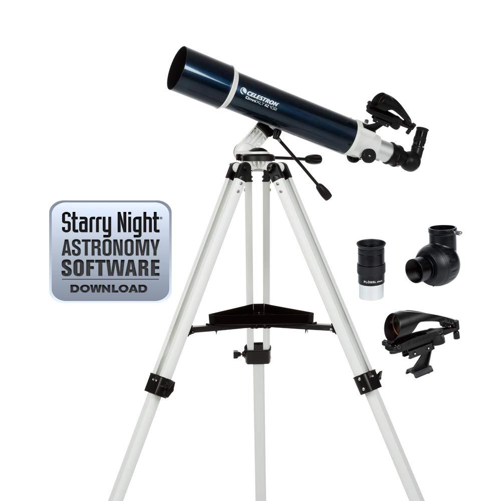 Celestron 22150 Omni XLT AZ 102mm Refractor (Blue) by Celestron