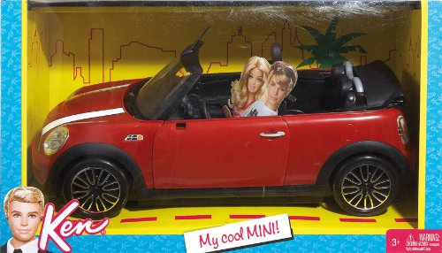 Barbie And Ken My Cool Mini Cooper Convertible Buy