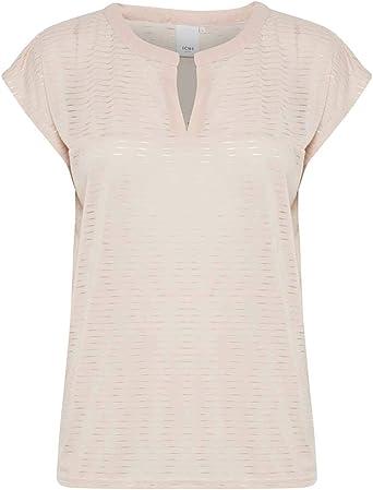 ICHI Camiseta Lasso Rosa: Amazon.es: Ropa y accesorios