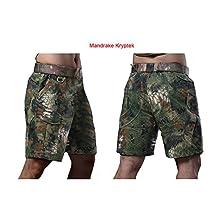 ATAirsoft(TM) Multi Colors Military Combat Hiking Cool Mens BDU 1/2 Short Pants, Without Belt,Typhon/Highlander/Mandrake/Nomad/Brown Green Kryptek
