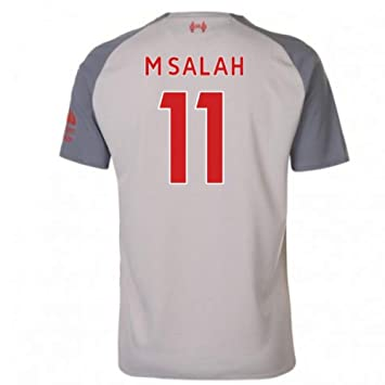 2b1e1a2b3a 2018-2019 Liverpool Third Football Soccer T-Shirt Maillot (Mohammad Salah  11)