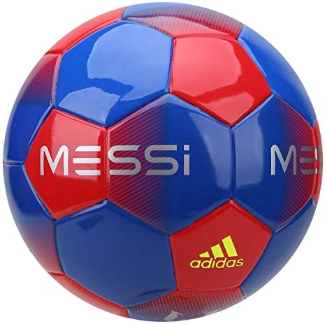 adidas Messi Mini Ball, Hombre, Football Blue/Active Red/Silver ...
