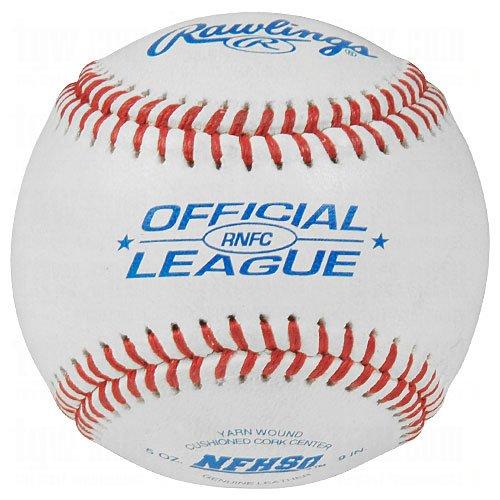 Rawlings NFHS Official League Baseball (Dozen) White