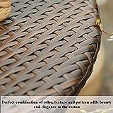 PHI VILLA Outdoor Rattan Wicker Folding Picnic
