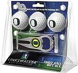 LinksWalker NCAA Oregon Ducks - 3 Ball Gift Pack with Hat Trick Divot Tool