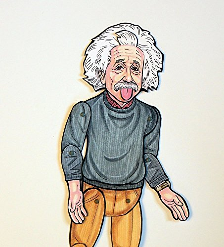 Albert Einstein Articulated Paper Doll by Ardently Crafted